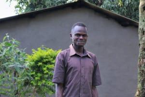 The Water Project: Bukhunyilu Community, Solomon Wangula Spring -  Kamins Muteshi
