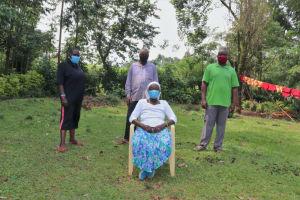 The Water Project: Shilakaya Community, Shanamwevo Spring -  Margaret With The Water User Committee