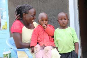 The Water Project: Emulakha Community, Alukoye Spring -  Family Portrait