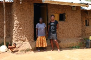 The Water Project: Emukangu Community, Okhaso Spring -  Ivy And Her Mother At Home