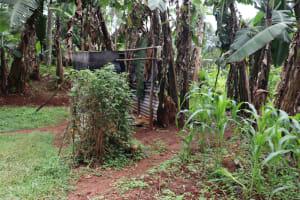 The Water Project: Shamakhokho Community, Wizula Spring -  Bathing Room