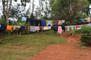 The Water Project: Shamakhokho Community, Wizula Spring -  Clothesline