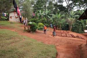 The Water Project: Shamakhokho Community, Wizula Spring -  Household Compound