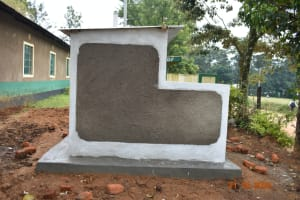 The Water Project: Makunga Secondary School -  Side View Of Latrines