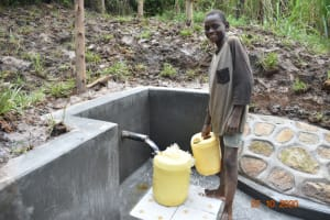 The Water Project: Mahola Community, Oyula Spring -  Elvis At The Spring