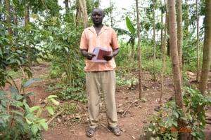 The Water Project: Mahola Community, Oyula Spring -  James Manyasi