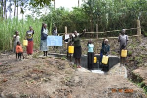 The Water Project: Mahola Community, Oyula Spring -  Oyula Spring Dedication