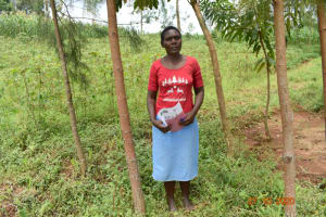 The Water Project: Mahola Community, Oyula Spring -  Rose Amakove