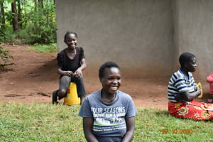 The Water Project: Mahola Community, Oyula Spring -  The Session Was Full Of Life