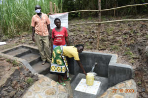 The Water Project: Mahola Community, Oyula Spring -  The Water User Committee