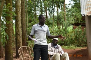 The Water Project: Mahola Community, Oyula Spring -  Participating In Training