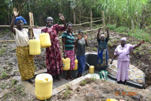 The Water Project: Mahola Community, Oyula Spring -  With Love From Oyula Spring