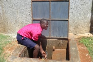 The Water Project: Jinjini Friends Primary School -  Clyson About To Make A Splash