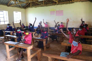 The Water Project: Jinjini Friends Primary School -  Question And Answer Session Was Active