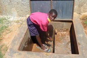The Water Project: Jinjini Friends Primary School -  Washing Hands