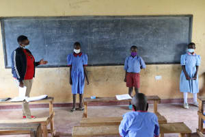 The Water Project: Mukoko Baptist Primary School -  Student Health Club Leaders
