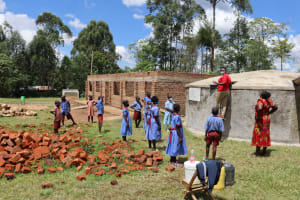 The Water Project: Mukoko Baptist Primary School -  Tank Maintenance Training