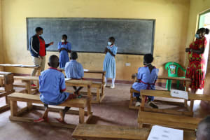 The Water Project: Mukoko Baptist Primary School -  Training