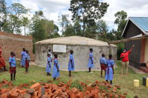The Water Project: Mukoko Baptist Primary School -  Gutter Maintenance Training