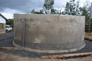The Water Project: Mutulani Secondary School -  Complete Tank