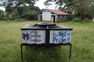 The Water Project: Mutulani Secondary School -  New Handwashing Station