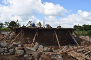 The Water Project: Mutulani Secondary School -  Tank Progress