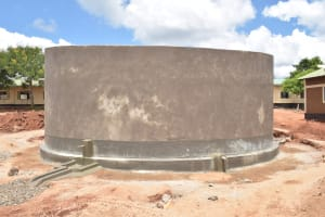 The Water Project: St. Paul Waita Secondary School -  Complete Tank