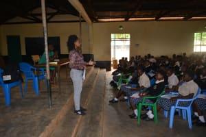 The Water Project: St. Paul Waita Secondary School -  Sanitation And Hygiene Training