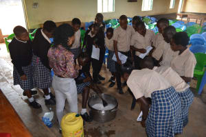 The Water Project: St. Paul Waita Secondary School -  Soap Making Demonstration