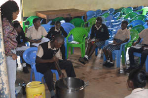 The Water Project: St. Paul Waita Secondary School -  Soap Making