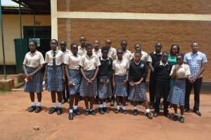 The Water Project: St. Paul Waita Secondary School -  Student Health Club Members