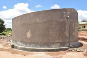 The Water Project: St. Paul Waita Secondary School -  Tank Walls Cure