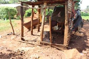The Water Project: Shikoye Community, Kwa Witinga Spring -  Animal Pen