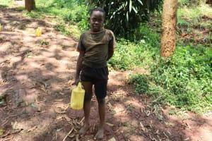 The Water Project: Shikoye Community, Kwa Witinga Spring -  Bravine