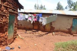 The Water Project: Shikoye Community, Kwa Witinga Spring -  Clothesline
