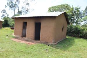 The Water Project: Shikoye Community, Kwa Witinga Spring -  Outside The Kitchen