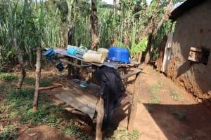 The Water Project: Shisasari Itumbu Community, Mathias Juma Spring -  Dishrack