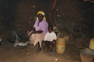 The Water Project: Shisasari Itumbu Community, Mathias Juma Spring -  Inside The Kitchen
