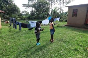 The Water Project: Malimali Community, Onyango Spring -  Children Playing