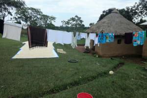 The Water Project: Malimali Community, Onyango Spring -  Clothesline