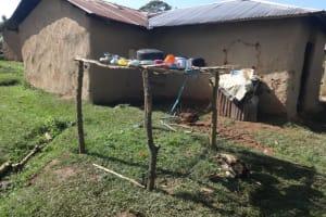 The Water Project: Malimali Community, Onyango Spring -  Dishrack