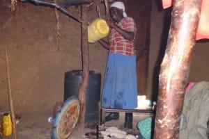 The Water Project: Malimali Community, Onyango Spring -  Storing Water