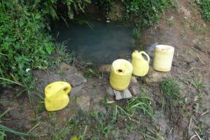 The Water Project: Malimali Community, Onyango Spring -  Water Source