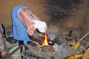 The Water Project: Malimali Community, Onyango Spring -  Cooking
