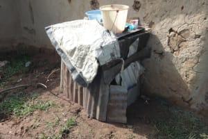 The Water Project: Malimali Community, Onyango Spring -  Doghouse