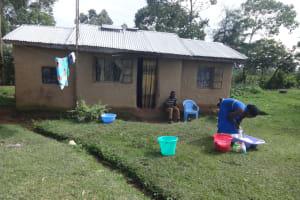 The Water Project: Malimali Community, Onyango Spring -  Doing The Laundry