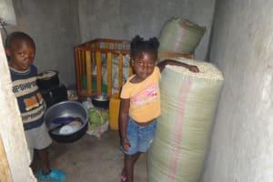 The Water Project: Malimali Community, Onyango Spring -  Inside The Kitchen