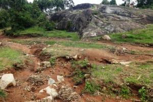 The Water Project: Malimali Community, Onyango Spring -  Rocky Community Landscape