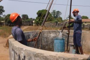 The Water Project: Lungi, New London, #10 Dankama Street -  Bailing