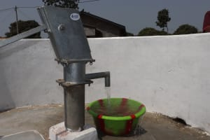 The Water Project: Lungi, New London, #10 Dankama Street -  Clean Water Flowing